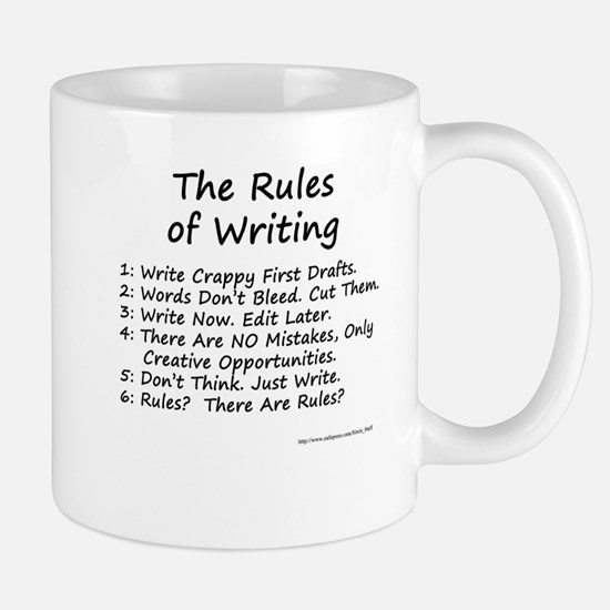 The Rules of Writing Mug