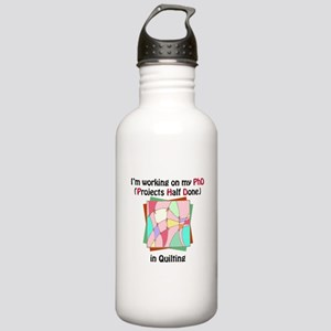 Quilting PhD Stainless Water Bottle 1.0L
