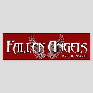 Fallen Angels Red Bumper Sticker