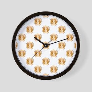 Guinea Pig Pattern Wall Clock