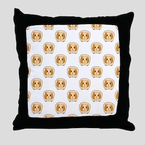 Guinea Pig Pattern Throw Pillow