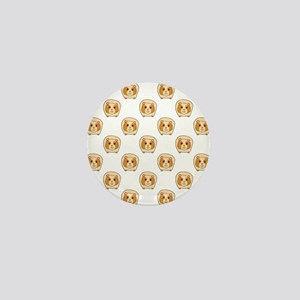 Guinea Pig Pattern Mini Button