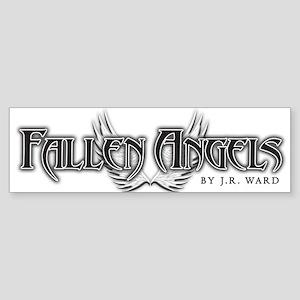 Fallen Angels White Bumper Sticker