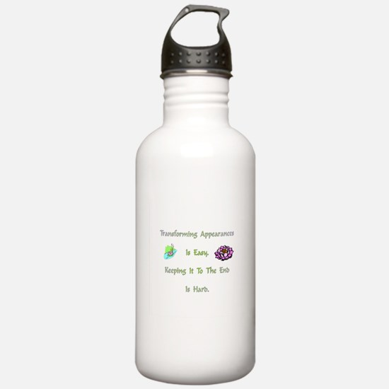 Transforming Appearances Gift Water Bottle