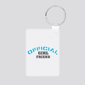 Official Girl Friend Aluminum Photo Keychain