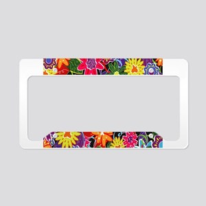 LOVE LIFE License Plate Holder