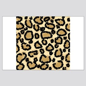 Leopard Print Pattern Large Poster