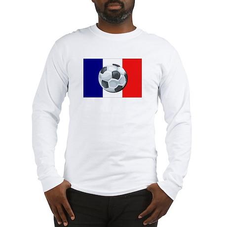 French Soccer Long Sleeve T-Shirt