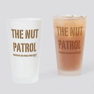 Nut Patrol Drinking Glass