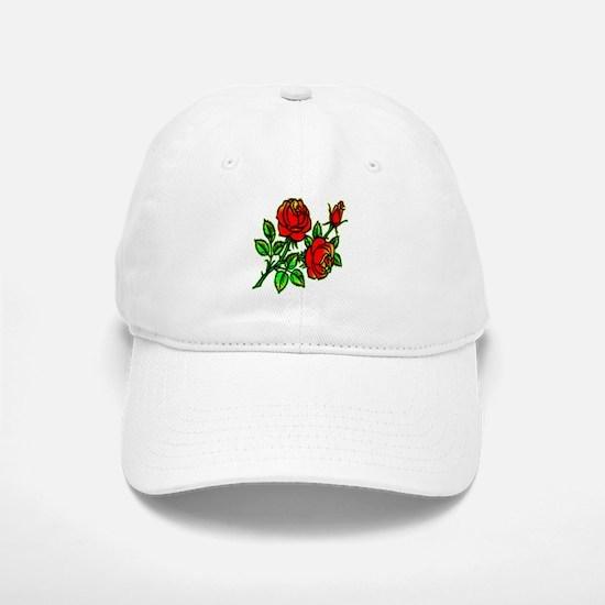 Tattoo Roses Baseball Baseball Cap