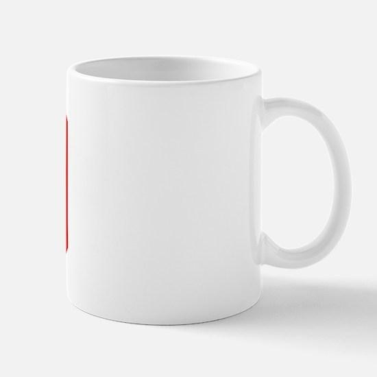 Varsity Uniform Number 80 (Red) Mug