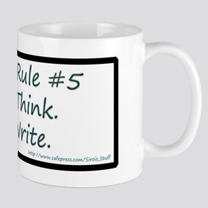 Writing Rule #5 Mug