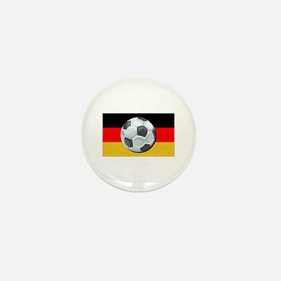 German Soccer Mini Button