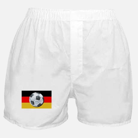 German Soccer Boxer Shorts