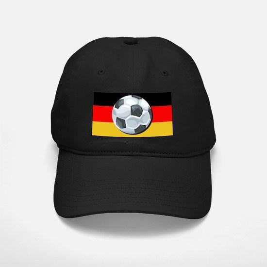 German Soccer Baseball Hat