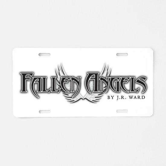 Fallen Angels Aluminum License Plate