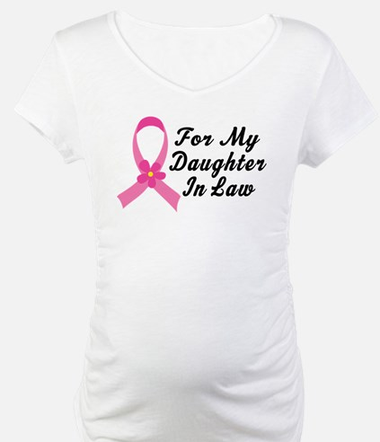 Pink Ribbon For Daughter-in-Law Shirt