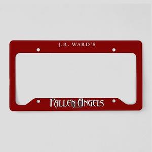 Red JR Ward's Fallen Angels License Plate Holder