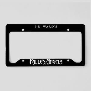 Black JR Ward's Fallen Angels License Plate Holder