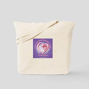 ACIM-Two Voices Tote Bag