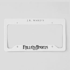 White JR Ward's Fallen Angels License Plate Holder