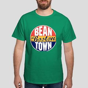 Boston Vintage Label Dark T-Shirt