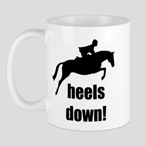 heels down jumper Mug
