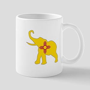 New Mexico Republican Elephant Flag Mugs