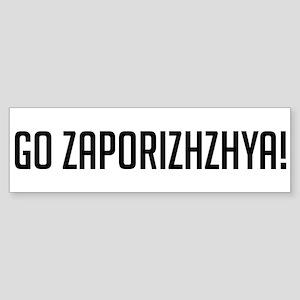 Go Zaporizhzhya! Bumper Sticker