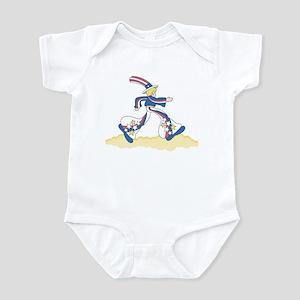 Mod Patriotic Infant Creeper