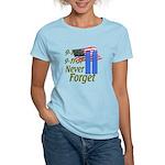 9-11 / Flag / Never Forget Women's Light T-Shirt