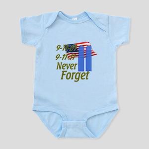 9-11 / Flag / Never Forget Infant Bodysuit
