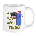 9-11 / Flag / Never Forget Mug