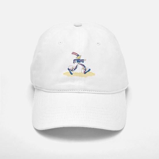 Mod Patriotic Baseball Baseball Cap