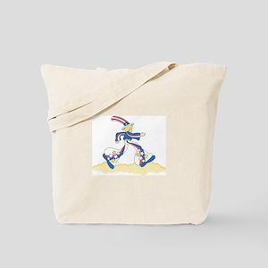 Mod Patriotic Tote Bag