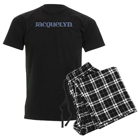 Jacquelyn Blue Glass Men's Dark Pajamas