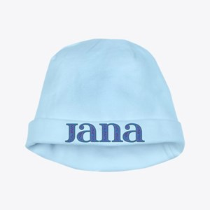 Jana Blue Glass baby hat