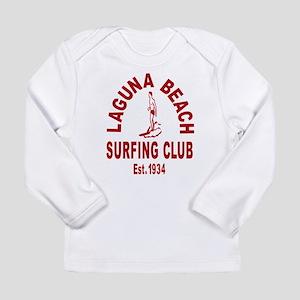 Laguna Beach Surfing Club Long Sleeve Infant T-Shi