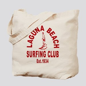 Laguna Beach Surfing Club Tote Bag