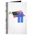 9-11 with Flag, Buildings Journal