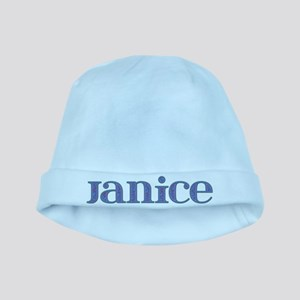 Janice Blue Glass baby hat