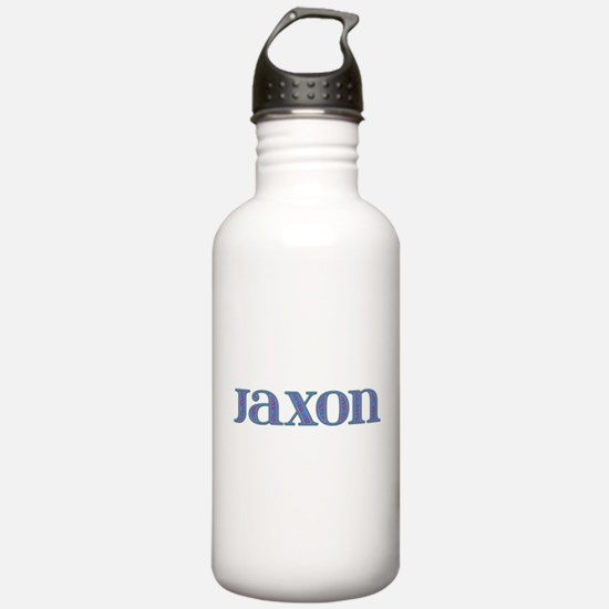 Jaxon Blue Glass Water Bottle