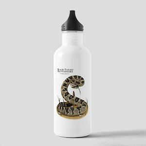 Black-Tailed Rattlesnake Stainless Water Bottle 1.