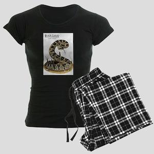 Black-Tailed Rattlesnake Women's Dark Pajamas