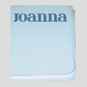 Joanna Blue Glass baby blanket