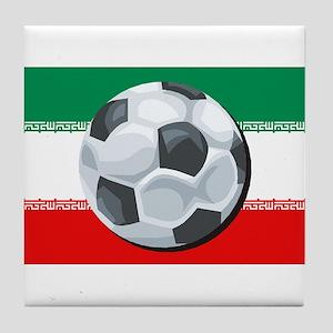 Iran Soccer Tile Coaster
