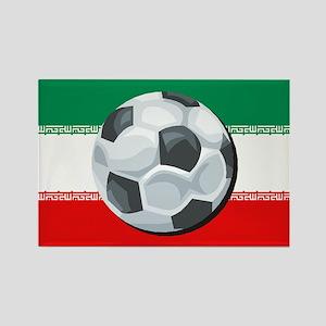 Iran Soccer Rectangle Magnet