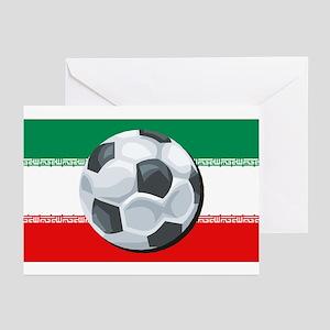 Iran Soccer Greeting Cards (Pk of 10)