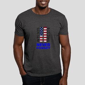 Never Forget 9/11 Dark T-Shirt