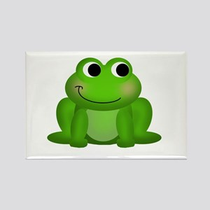 Cute Froggy Rectangle Magnet
